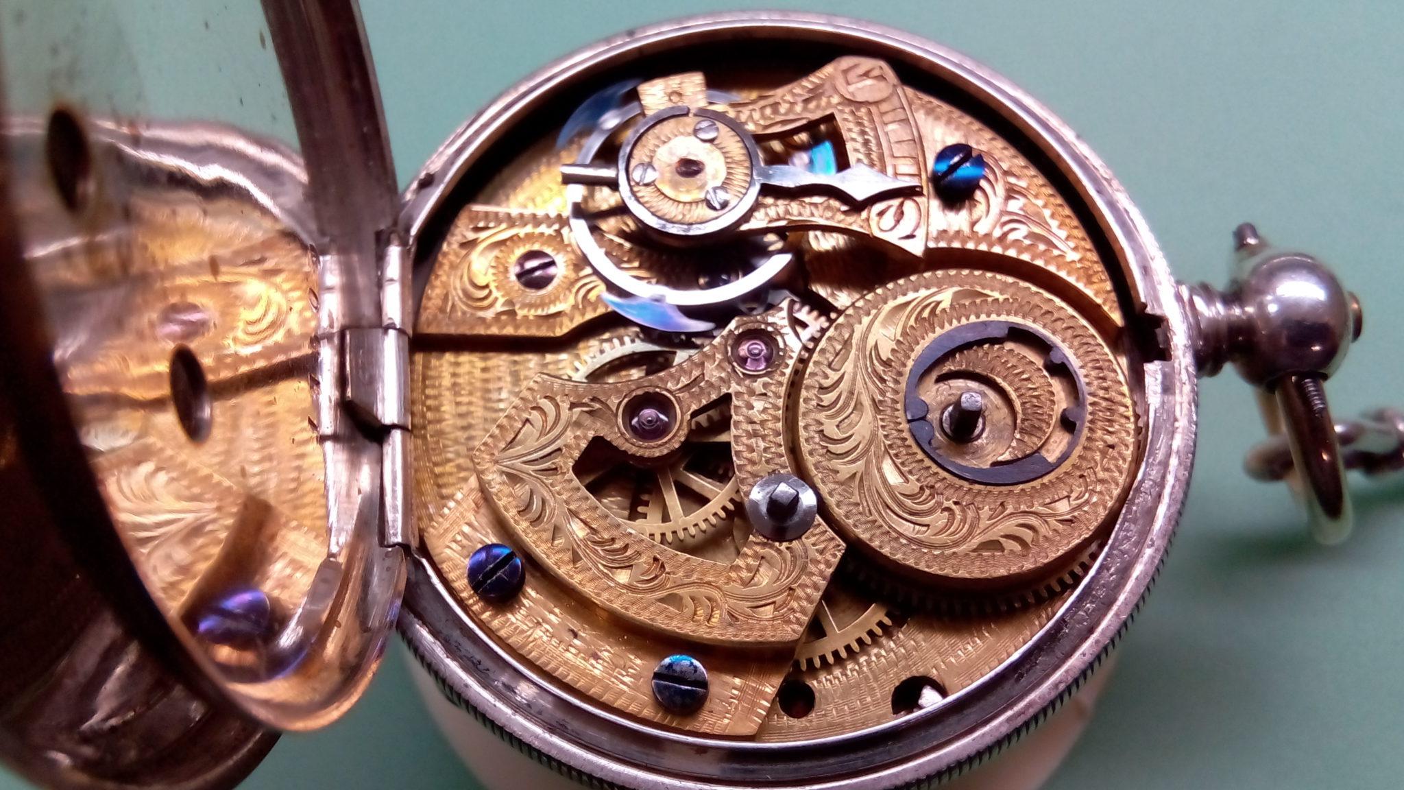 Antike taschenuhr wallpaper  Restauration einer Taschenuhr mit Duplexhemmung | Uhrmachermeister ...