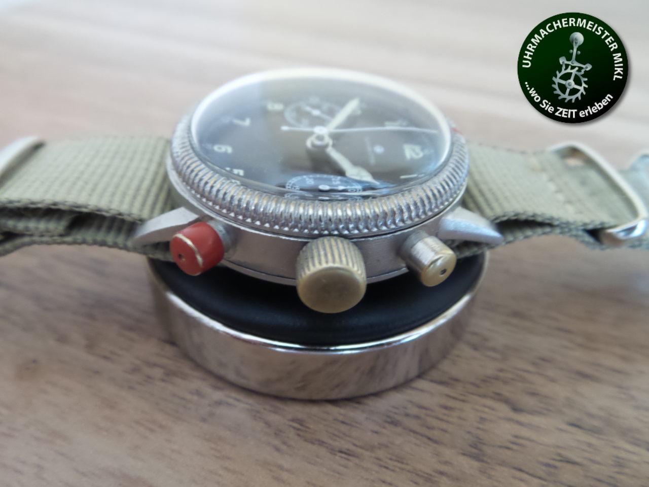 Die fertig restaurierte Uhr.